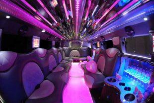 Cadillac Escalade limo interior St Louis