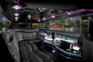 Chrysler 300 limo interior St Louis
