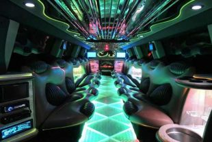 Hummer limo interior St Louis