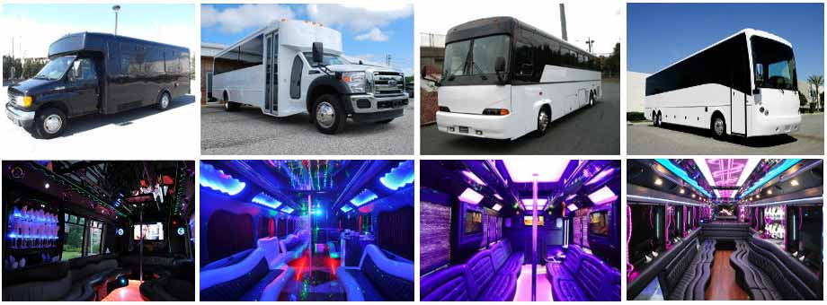 Wedding Transportation Party buses St Louis