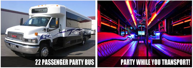 Wedding Transportation party bus rentals St Louis