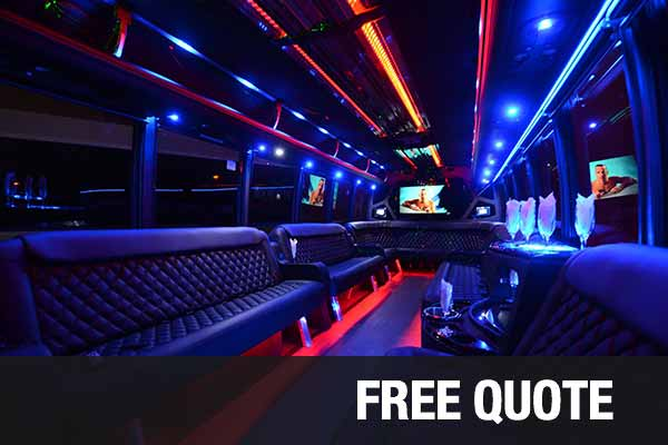 Wedding Transportation party buses for rental St Louis