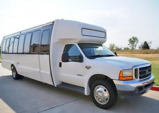 20 Passenger Shuttle Bus Rental Clayton