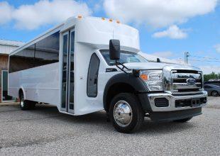 30 Passenger Bus Rental Ferguson