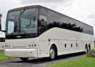 50 Passenger Charter Bus St Charles