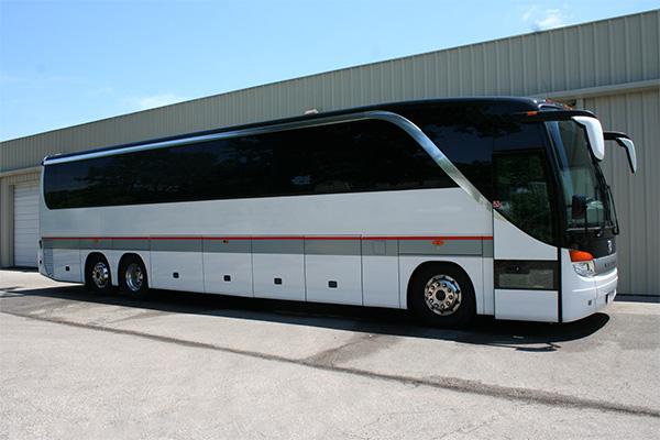 St Louis 56 Passenger Charter Bus